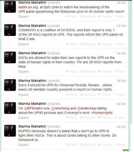 PEMBINA persoal peranan Marina Mahathir dalam tuntutan COMANGO