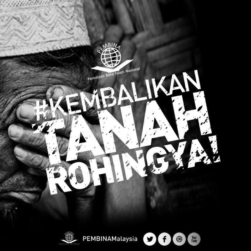 Rohingya, pembina