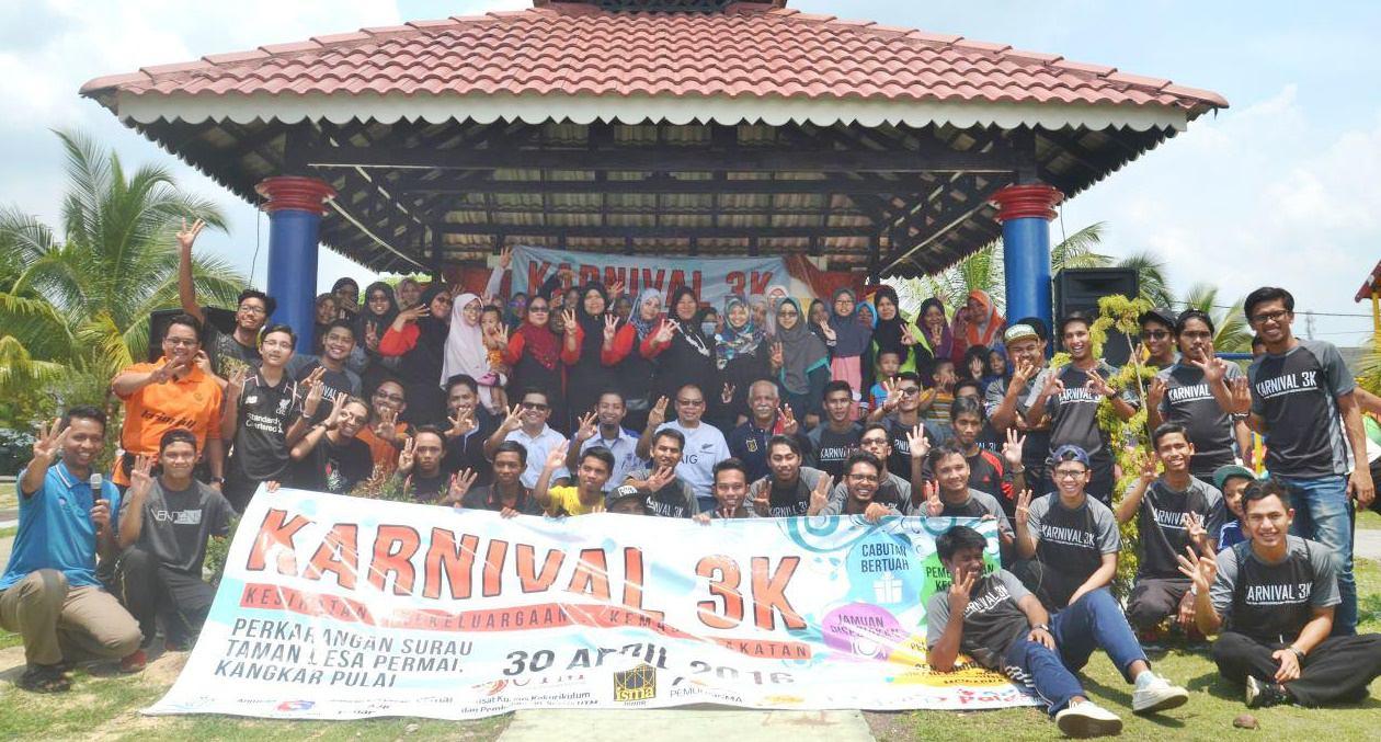 Pembina anjur Karnival 3K, erat kerjasama masyarakat dan bendung anasir negatif