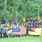 Semarak Kemerdekaan PEMBINA dan Pemuda Isma di Puncak Gunung Angsi