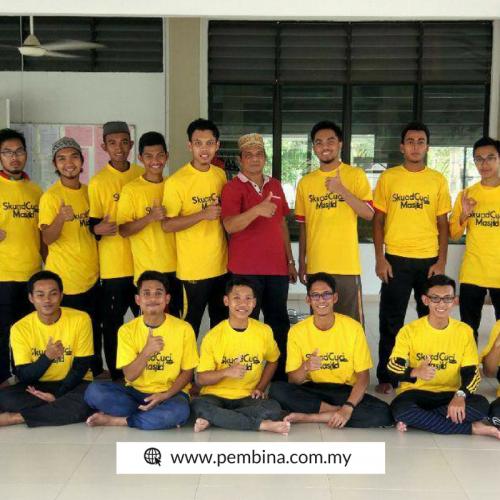Skuad Cuci Masjid Ambil Peduli Keperluan dan Kebajikan Masyarakat