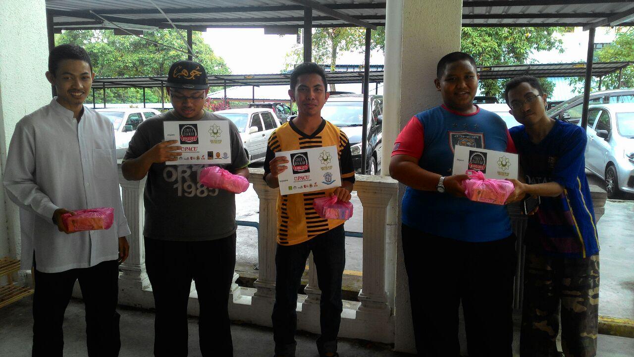 Sukarelawan Marsah Edar Makanan