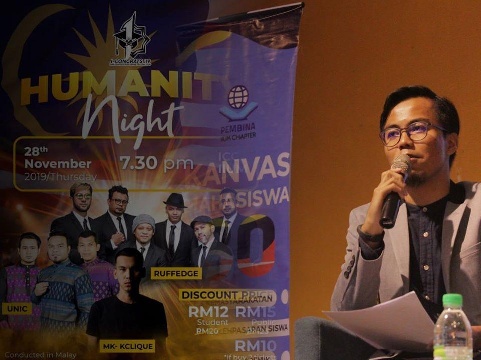 JEMPUTAN PENYAYI MK-KCLIQUE PADA CONCERT HUMANITY NIGHT PERLU DIPERHALUSI